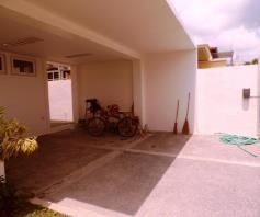 This 3 bedroom Semi - furnished house is located in a safe and secured subdivision - 4