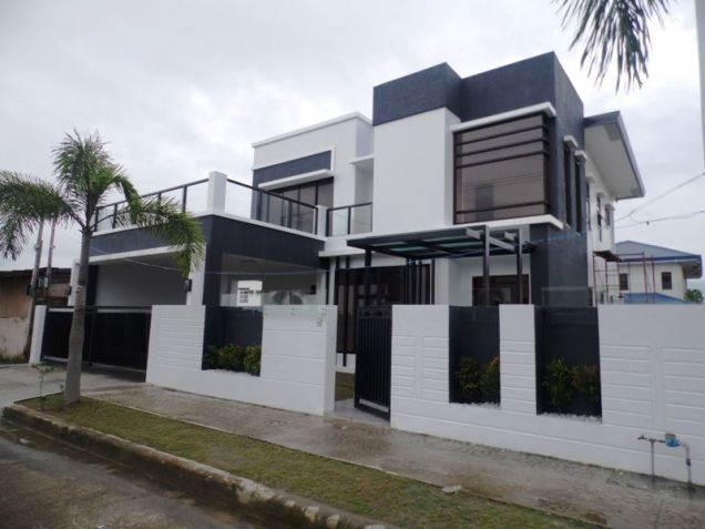 2-Storey House & Lot For Rent W/Pool In Hensonville Angeles City - 0