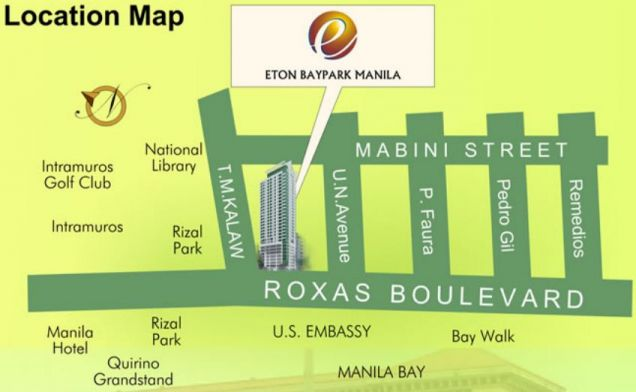 KA - For Sale: 2 Bedroom Unit in Eton Baypark Manila, Malate - 3