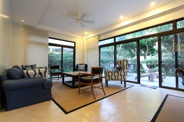 Furnished 3 Bedroom House for Rent in Maria Luisa Estate Park - 0