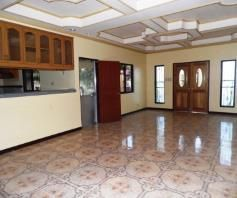 House and lot with yard for rent inside a gated Subdivision in Friendship - 75K - 4
