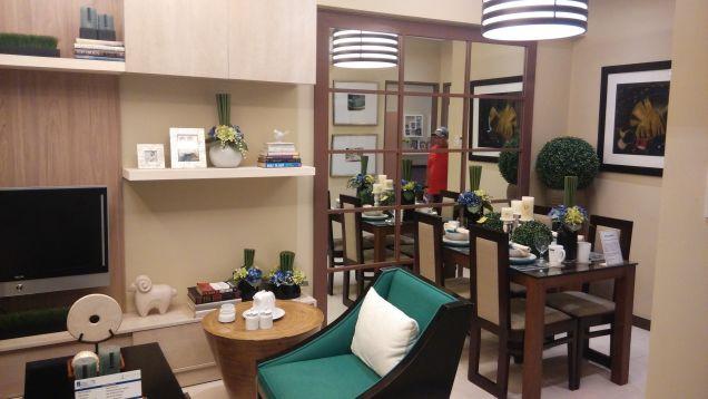 2 Bedroom condo unit for sale in Pasig near MRT Boni, EDSA, Light Mall, Makati CBD Flair Towers - 0