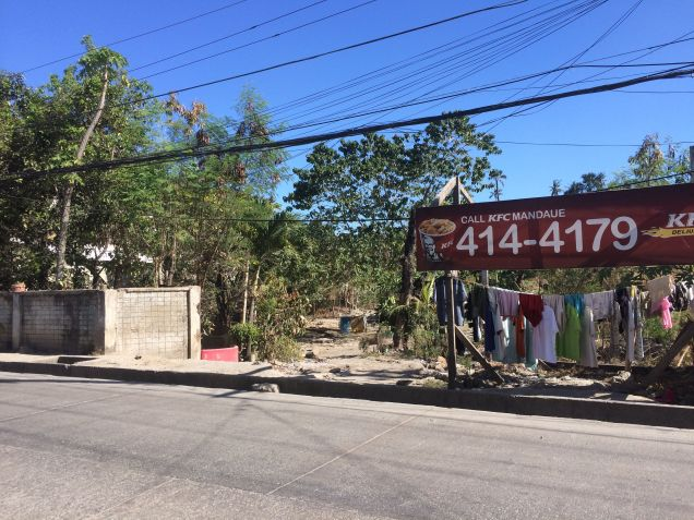 Lot for Rent, Pagsabungan, Mandaue (ideal for warehouse/truck park spaces) - along the hiway - 1