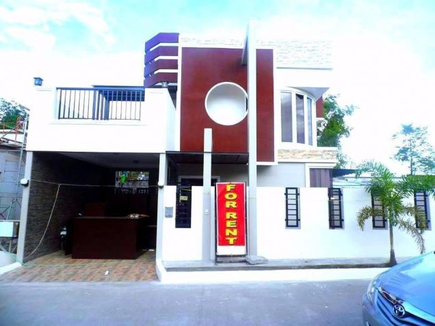 For Rent Furnished 3 Bedroom House In Angeles City - 0