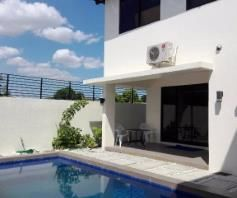 W/Private Pool House & Lot For RENT In Friendship Angeles City Near Clark - 1