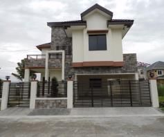 4 Bedroom House and lot near SM Clark for rent - P50K - 0