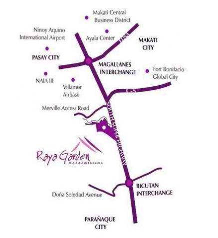 Raya Garden 3BR 73sqm 12% Discounts 10%DP near Resorts World, NAIA 1, Merville and SLEX - 4