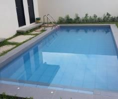 New House With Pool For Rent In Angeles City - 2