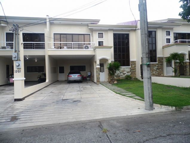 4BR Unfurnished Townhouse for rent in Angeles City Pampanga - 35K - 4