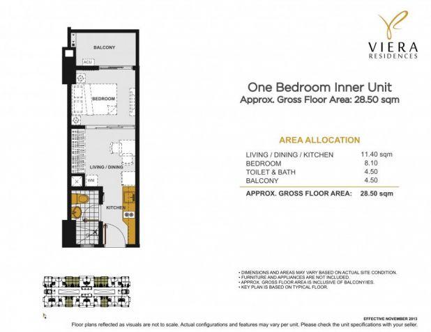 For Sale 1 Bedroom Condo in Quezon city near Tomas Morati & Timog Ave. - 9