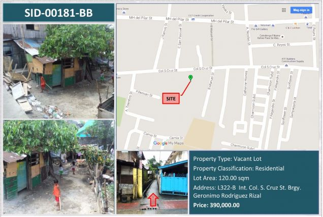 Residential Vacant Lot For Sale Montalban, Rizal - 0