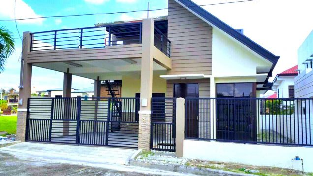 New Gated Bungalow House For Rent In Angeles City - 0