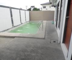 With Lap Pool, Bungalow House & Lot for rent in Hensonville Angeles City - 6