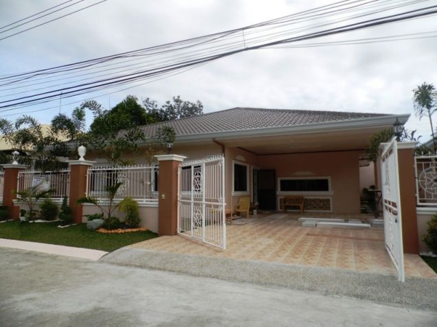 Furnished One-Storeyl House & Lot For Rent Along Friendship Highway In Angeles City Near CLARK - 0