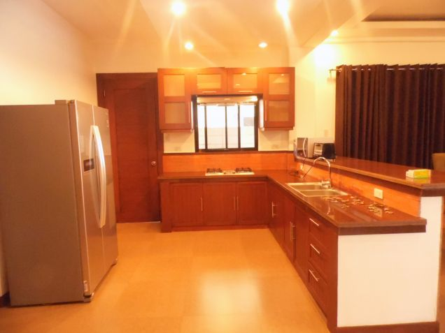 2 Storey Furnished House for rent in Hensonville - 70K - 0