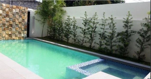 House and lot with 4 bedrooms & swimming pool in Angeles FOR RENT @130K - 9