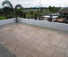 House and lot with Lap pool FOR RENT @110K - 6