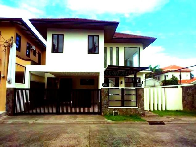 Unfurnished House With Back Garden For Rent In Angeles City - 0