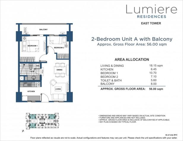 Resale 2bedroom in Lumiere residences West tower asume balance - 8