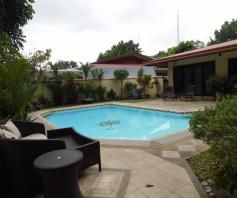 House and lot for rent with Spacious yard and swimming pool - 75K - 2