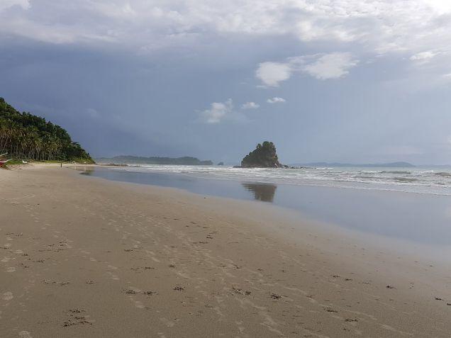 Beautiful Beach Lot at San Vicente Palawan with Sunset View - 2