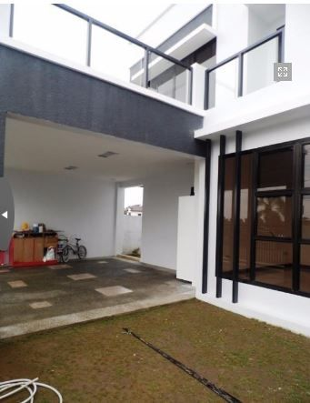 2 Storey House with swimming pool for rent in Hensonville @ 75K - 4