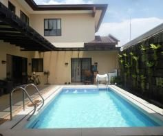 House and lot with swimming pool in Friendship FOR RENT @90k (Fully Furnished) - 1