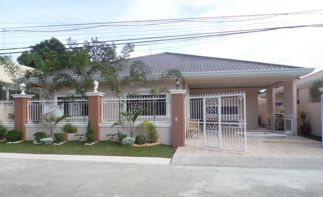 3 Bedroom Furnished Bungalow House and lot for Rent in a High End Subdivision - 0