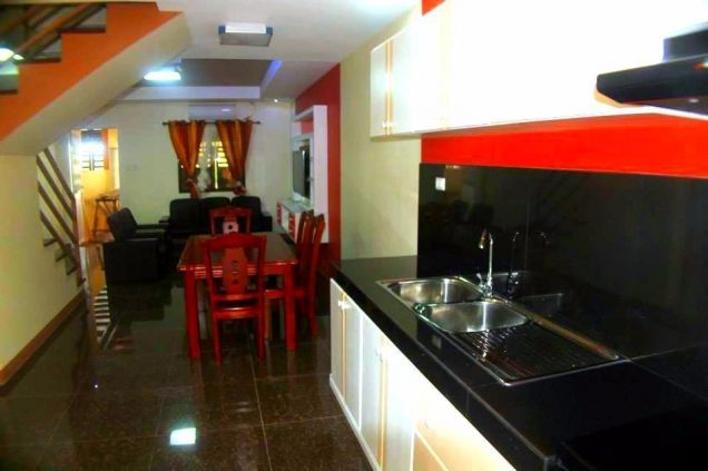 Affordable Furnished Townhouse For Rent In Angeles City - 2
