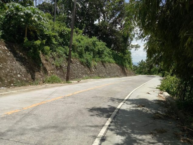 Overlooking Taal lot 3000 sqm in Laurel Batangas near Tagaytay - 2