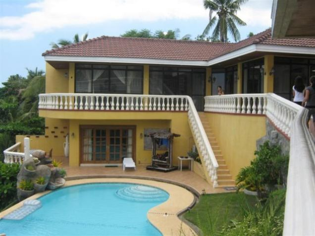 For Rent Two Beachouses with Pool,Garden and Cliff Beachfront, Tabogon Cebu - 0