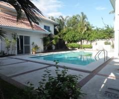 3 Bedrooms House For Rent with Swimming Pool Located at Timog Park - 2