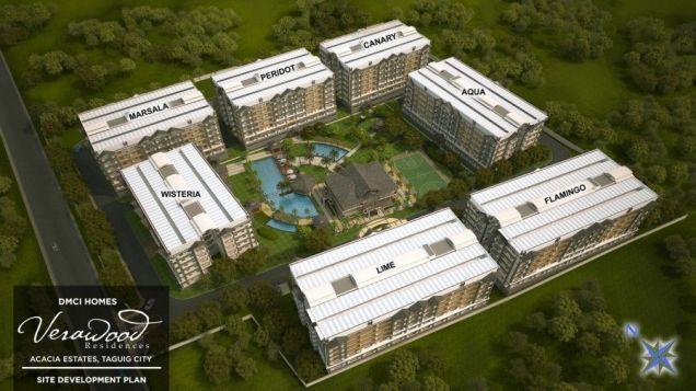 Verawood Residences 3 Bedroom Condo in Acacia Estates Taguig near BGC! - 3