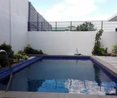 Cozy House and lot with Swimming pool for rent - 70K - 9