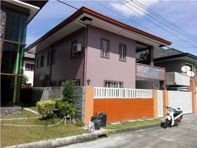 2-StoreyFurnished House & Lot For Rent In Hensonville Angeles City - 0