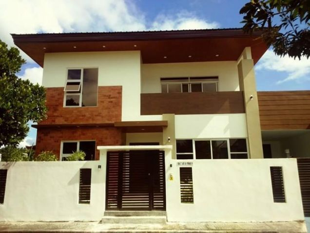 3 Bedroom Semi Furnished Brand New Modern House and lot for Rent in Telabastagan - 0