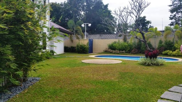 2-Storey House and Lot for Rent with Private Pool in Hensonville Angeles City - 1