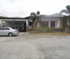 With Lap Pool, Bungalow House & Lot for rent in Hensonville Angeles City - 0