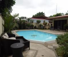 with Swimmingpool House & Lot for RENT in Angeles City - 0