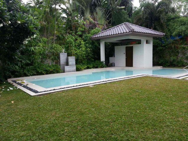 Modern Mediterranean Ayala Alabang House For Rent - 2