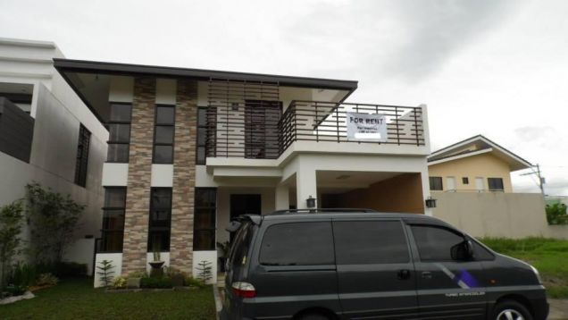 Furnished Two Story House For Rent In Angeles City - 0