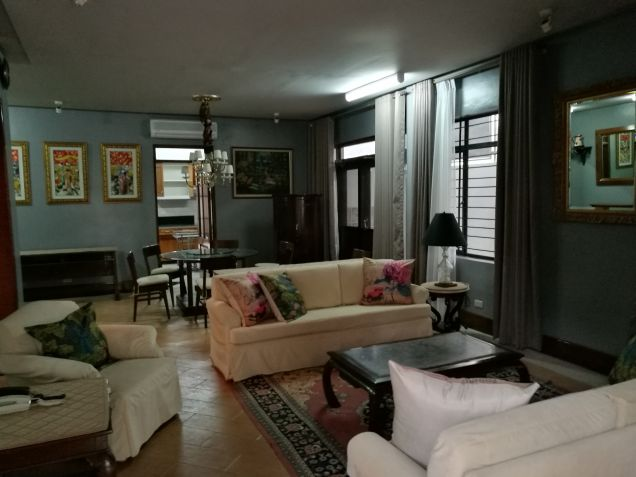 Fully Furnished House for rent in San Lorenzo Village Makati City - 0