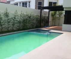 2 Storey 4Bedroom House & Lot W/Pool For RENT In Hensonville Angeles City - 1