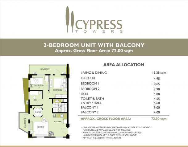 RFO 2BR Corner Unit Condo For Sale In Taguig City Near BGC and Mckinley Megaworld - 3