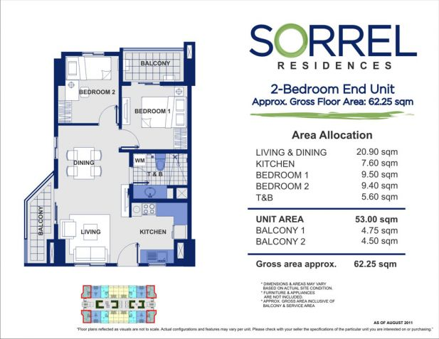 2bedroom in Stamesa manila, Vmapa Lrt, SM Centerpoint - 3