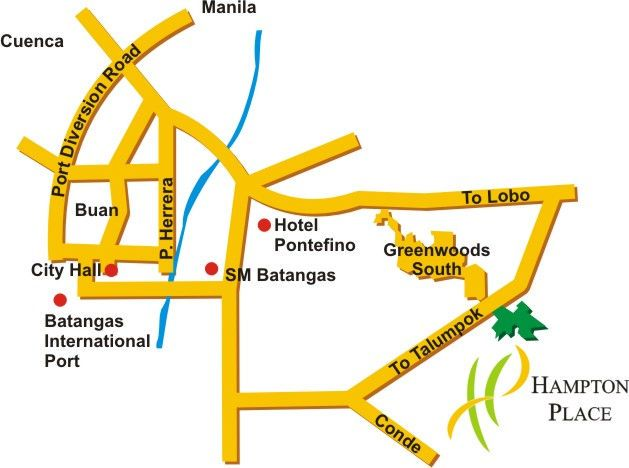 Lots Available For Sale at The Hampton Place, Domuclay, Batangas City - 4