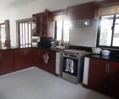 House and lot with swimming pool in Friendship FOR RENT @90k (Fully Furnished) - 7