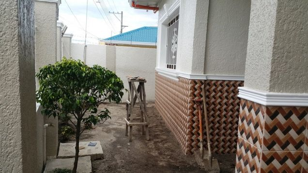 Brandnew house and lot for rent located in friendship - 40K - 2