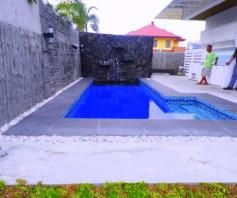 Fully Furnished House with pool inside a gated Subdivision for rent - 80K - 1