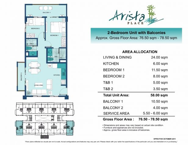 2BR RFO For Sale Midrise In South Area Paranaque by DMCI Homes - 7
